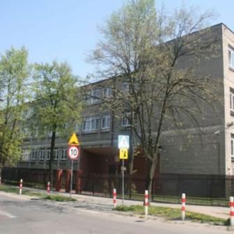 Zdjęcie budynku szkoły SPSK w Łódź