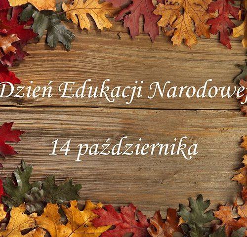 Życzenia z okazji Święta Edukacji Narodowej