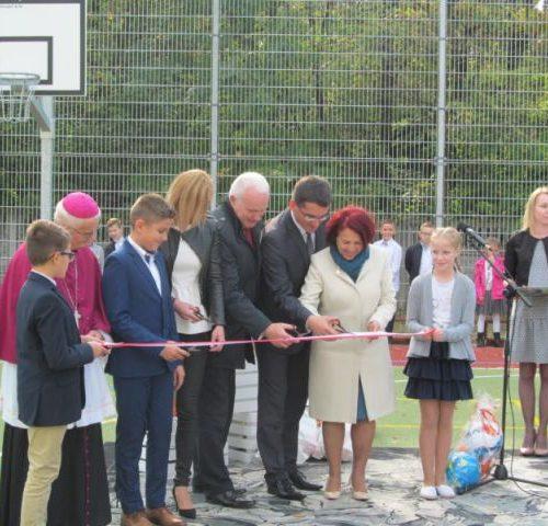 Otwarcie Boiska Sportowego w Trzcince